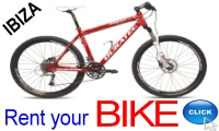 Rent your Bicycle in Ibiza with Ibiza Rent a Car S.L.